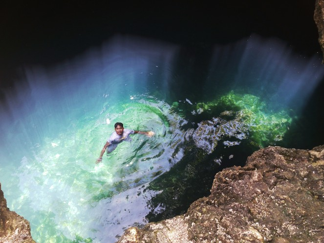 Anda Bohol Adventure blog, cabagnow cave pool, bohol blog, bohol blogger