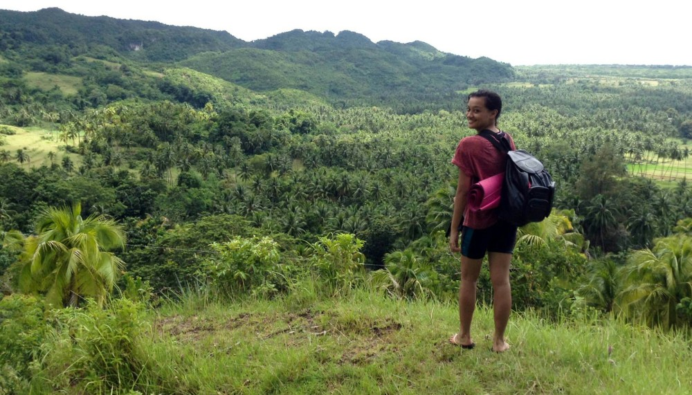 Anda Bohol Adventure, beach backpacking