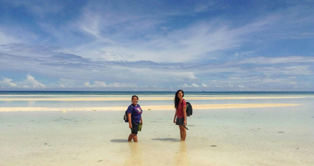 Anda Bohol Adventure, white beach
