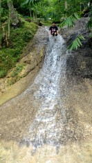 Anda Bohol Adventure blog, Anda Spring pool