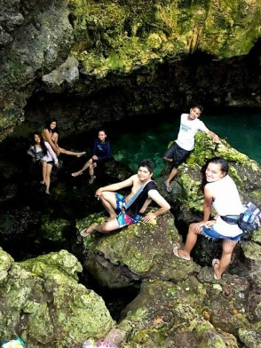 Anda Bohol Adventure, Cateres Cave Pool