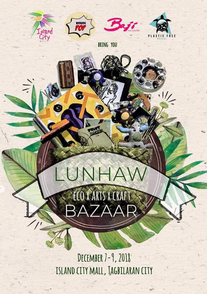 Lunhaw Bazaar Bohol, Eco Products, Local Artworks, Local Crafts